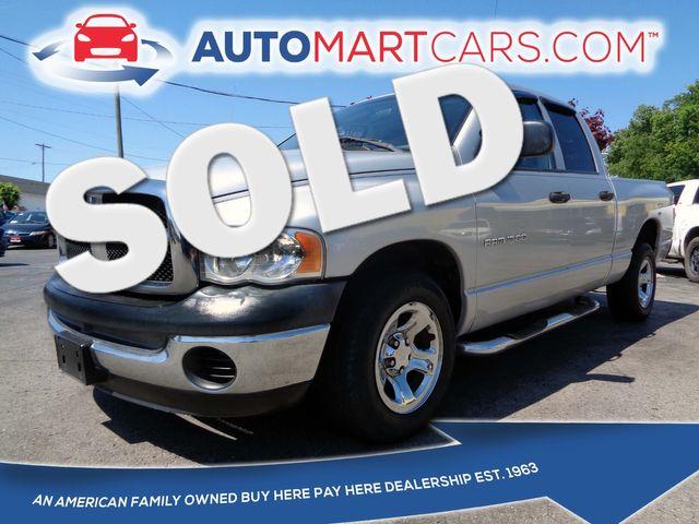 2004 Dodge Ram 1500 ST | Nashville, Tennessee | Auto Mart Used Cars Inc. in Nashville Tennessee