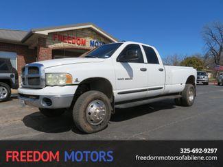 2004 Dodge Ram 3500 SLT 4x4 Dually | Abilene, Texas | Freedom Motors  in Abilene,Tx Texas