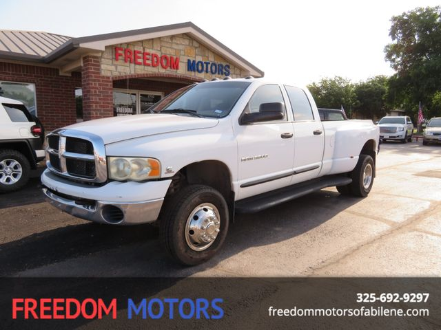 2004 Dodge Ram 3500 SLT 4x4 Dually | Abilene, Texas | Freedom Motors  in Abilene,Tx Texas