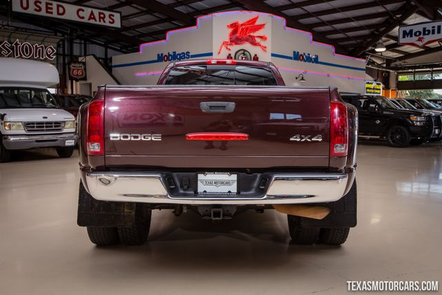 2004 Dodge Ram 3500 SLT 4X4 Dually in Addison Texas, 75001