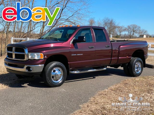 2004 Dodge Ram 3500 Cummins 5.9L DIESEL 4X4 CREW DRW SLT 55K MILE WOW in Woodbury, New Jersey 08093