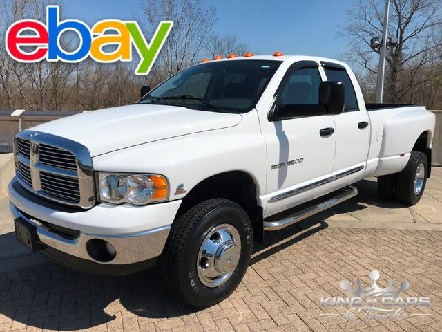 2004 Dodge Ram 3500 Cummins DIESEL 6SPD MANUAL 4X4 SLT 75K MILES in Woodbury, New Jersey 08096