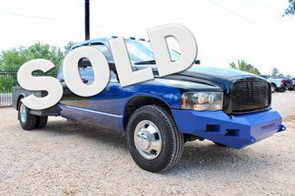 2004 Dodge Ram 3500 DRW SLT Quad Cab 2WD 5.9L Cummins Diesel 6 Speed Manual Sealy, Texas