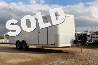 2004 Featherlite 4926 - 20 ENCLOSED CAR HAULER CONROE, TX