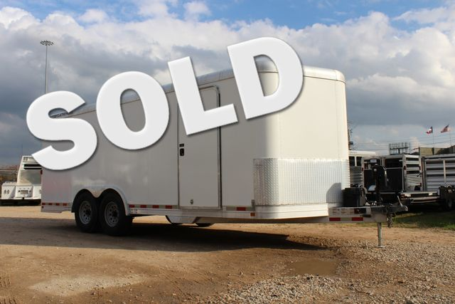 2004 Featherlite 4926 - 20 ENCLOSED CAR HAULER CONROE, TX 0