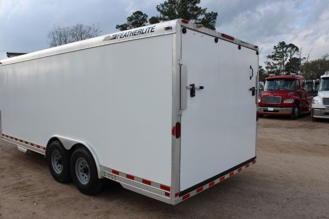 2004 Featherlite 4926 - 20 ENCLOSED CAR HAULER CONROE, TX 11