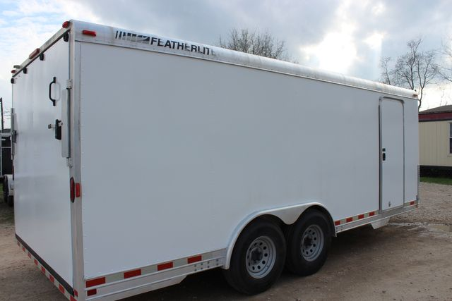 2004 Featherlite 4926 - 20 ENCLOSED CAR HAULER CONROE, TX 25