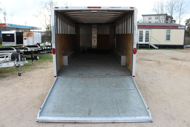 2004 Featherlite 4926 - 20 ENCLOSED CAR HAULER CONROE, TX 14