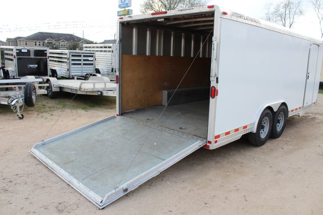 2004 Featherlite 4926 - 20 ENCLOSED CAR HAULER CONROE, TX 23
