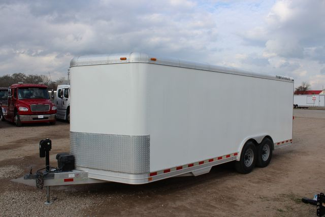 2004 Featherlite 4926 - 20 ENCLOSED CAR HAULER CONROE, TX 8