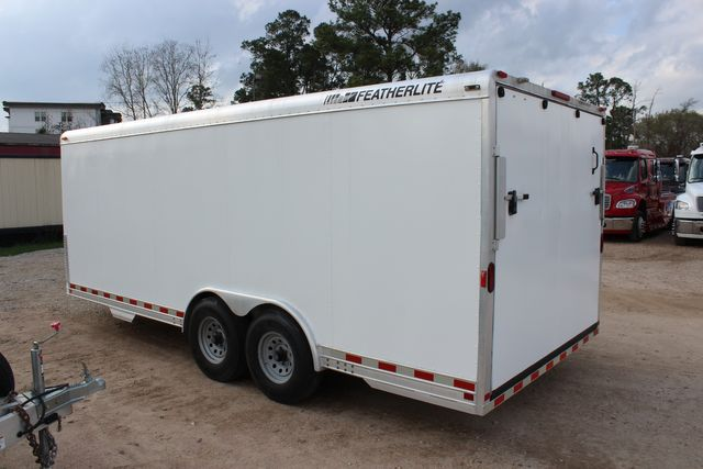 2004 Featherlite 4926 - 20 ENCLOSED CAR HAULER CONROE, TX 9