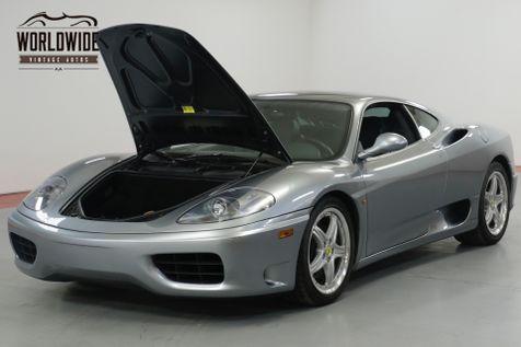 2004 Ferrari 360 MODENA. COLLECTOR GRADE. 16K MILES! RECORDS  | Denver, CO | Worldwide Vintage Autos in Denver, CO