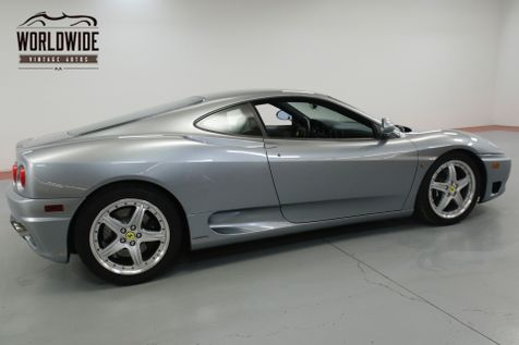 2004 Ferrari 360 MODENA. COLLECTOR GRADE. 16K MILES! RECORDS  | Denver, CO | Worldwide Vintage Autos in Denver, CO