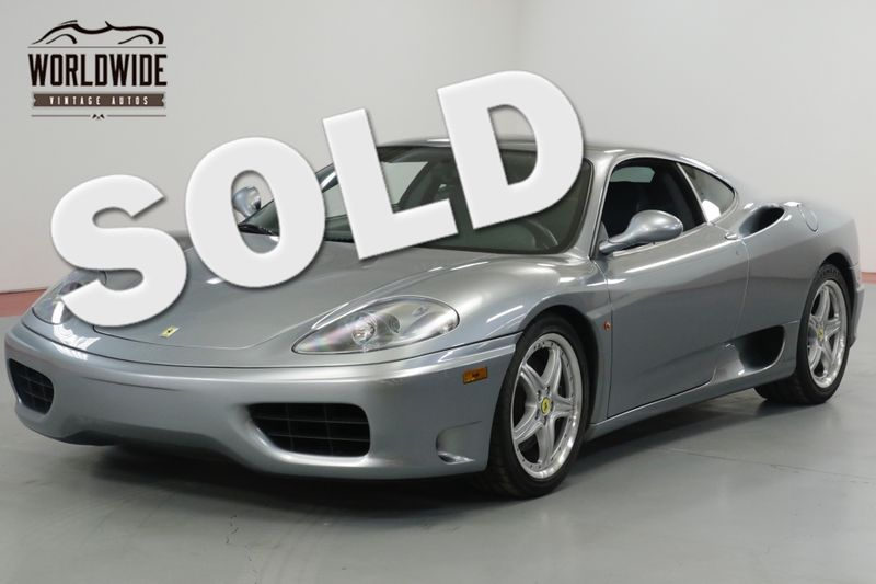 2004 Ferrari 360 MODENA. COLLECTOR GRADE. 16K MILES! RECORDS    Denver, CO   Worldwide Vintage Autos