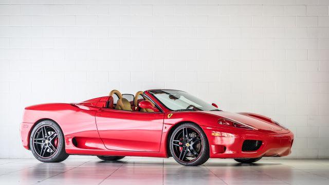 2004 Ferrari 360 Spider Houston, Texas 0