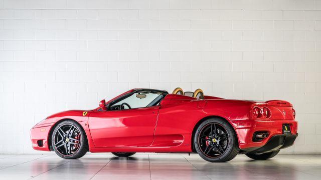 2004 Ferrari 360 Spider Houston, Texas 1