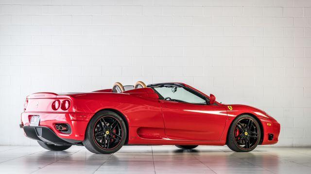 2004 Ferrari 360 Spider Houston, Texas 2