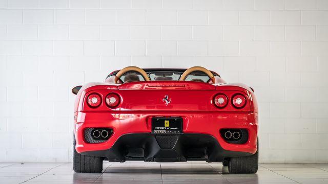 2004 Ferrari 360 Spider Houston, Texas 8