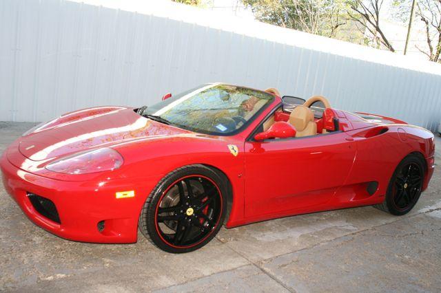 2004 Ferrari 360 Spider Houston, Texas 22