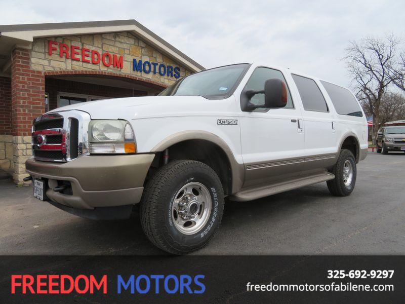 2004 Ford Excursion Eddie Bauer 4x4 | Abilene, Texas | Freedom Motors  in Abilene Texas
