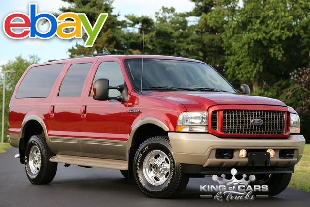 2004 Ford Excursion Eddie Bauer TURBO DIESEL 58K ACTUAL MILES 4X4 SUV