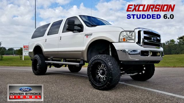 2004 Ford Excursion Eddie Bauer HEAD STUDS AND TUNED LIFTED DIESEL | Palmetto, FL | EA Motorsports in Palmetto FL