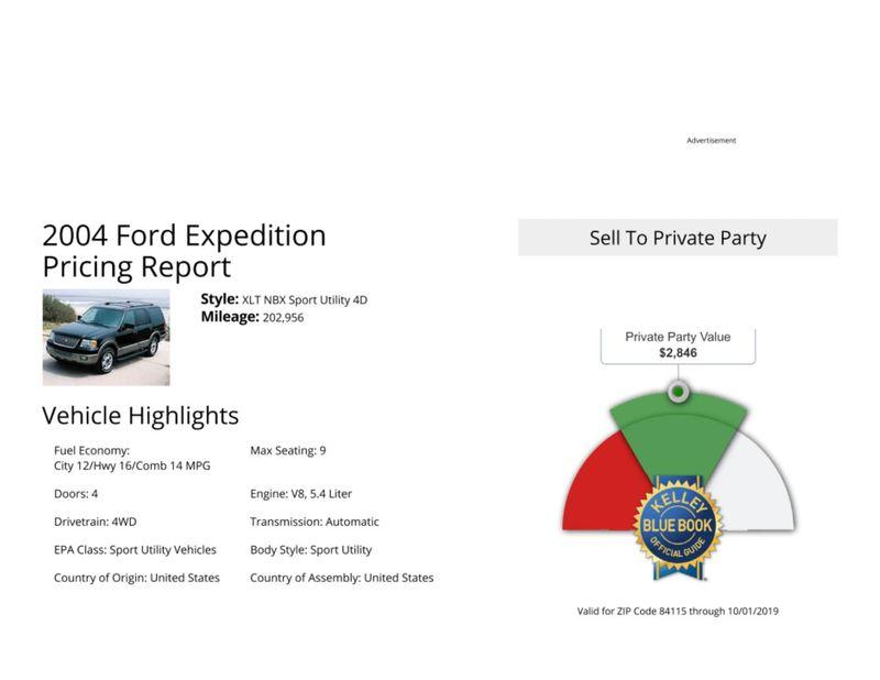 2004 Ford Expedition XLT  in Salt Lake City, UT