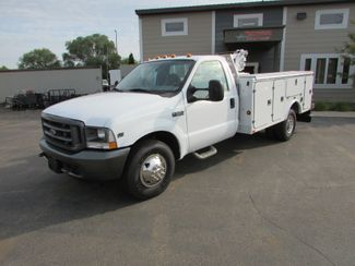 2004 Ford  F-350 4x2 Utility Truck with Crane in St Cloud, MN
