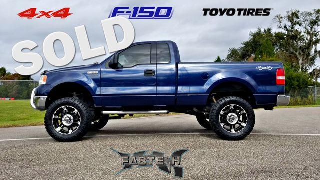 2004 Ford F-150  XLT 4X4 LIFTED FABTECK TOYO TIRES F150  | Palmetto, FL | EA Motorsports in Palmetto FL