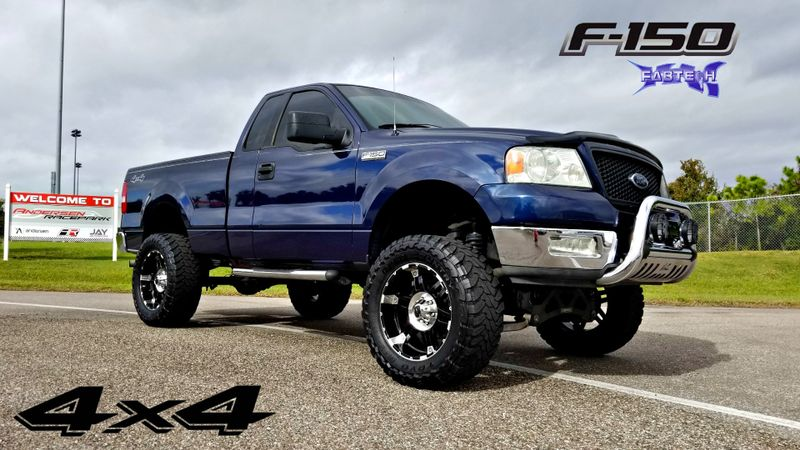 2004 Ford F-150  XLT 4X4 LIFTED FABTECK TOYO TIRES F150  | Palmetto, FL | EA Motorsports in Palmetto, FL