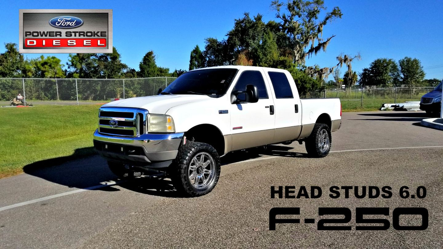 2004 Ford Super Duty F 250 Lariat Studded 60 Lifted Clean Carfax Palmetto