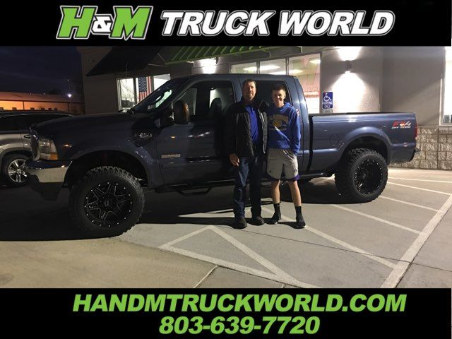 "2004 Ford F250SD XLT 4X4 ""BULLET-PROOFED"" LIFTED BLACK 20'' WHEELS in Rock Hill, SC 29730"