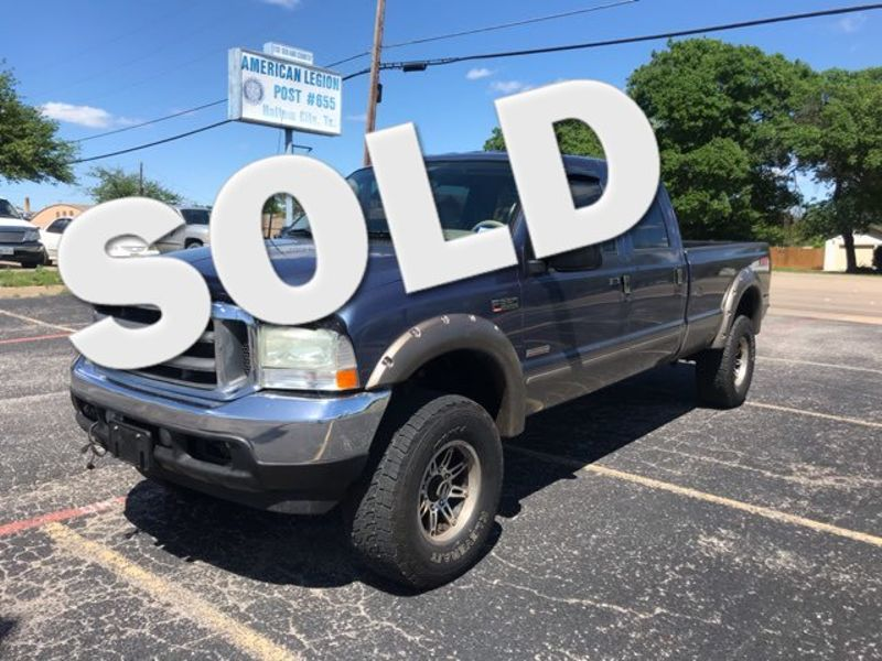 2004 Ford F350SD Lariat FX4 Crew Cab 4x4 Diesel | Ft. Worth, TX | Auto World Sales LLC in Ft. Worth TX