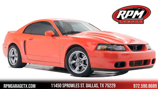 2004 Ford Mustang SVT Cobra in Rare Competition Orange
