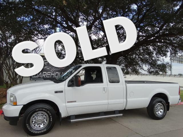 2004 Ford Super Duty F-250 Crew Cab XLT, Diesel, CD, One-Owner! Chromes 100k | Dallas, Texas | Corvette Warehouse  in Dallas Texas