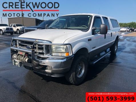 2004 Ford Super Duty F-250 Lariat 4x4 Diesel White Winch Camper Shell Leather in Searcy, AR