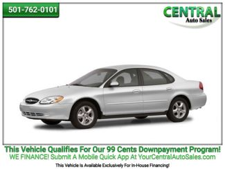 2004 Ford Taurus SES   Hot Springs, AR   Central Auto Sales in Hot Springs AR