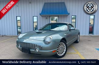 2004 Ford Thunderbird PACIFIC COAST ROADSTER, 1-OWNER, CLEAN CARFAX in Rowlett