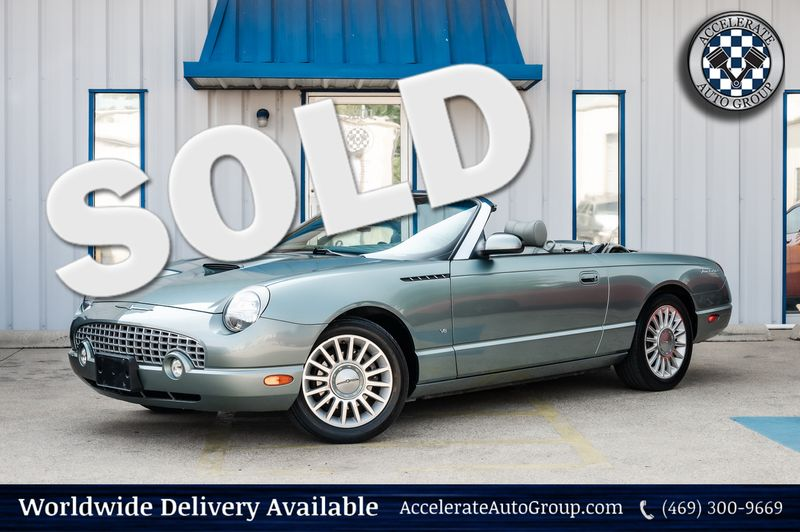 2004 Ford Thunderbird PACIFIC COAST ROADSTER, 1-OWNER, CLEAN CARFAX in Rowlett Texas