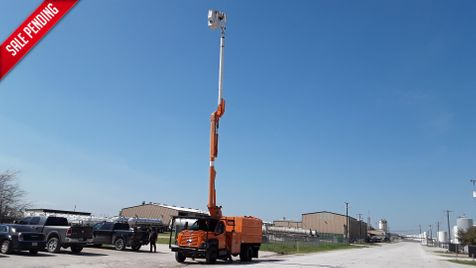 2004 Gmc C7500 ALTEC 60FT BUCKET FORESTRY TRUCK PONY MOTOR / LOW MILEAGE in Fort Worth, TX