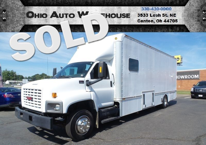 2004 GMC TC6500 Office RV Hauler Handicap Wheelchair 14K Low Miles | Canton, Ohio | Ohio Auto Warehouse LLC in Canton Ohio