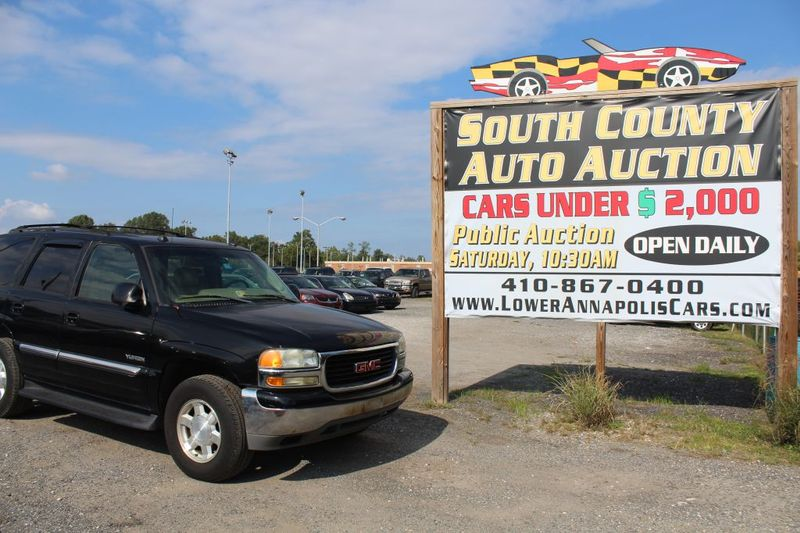 2004 GMC Yukon SLT  city MD  South County Public Auto Auction  in Harwood, MD