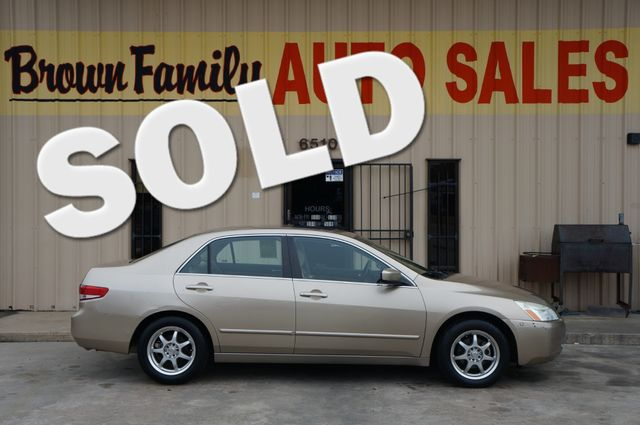 2004 Honda Accord EX | Houston, TX | Brown Family Auto Sales in Houston TX