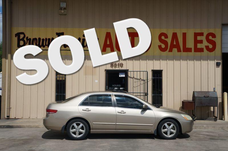 2004 Honda Accord EX   Houston, TX   Brown Family Auto Sales in Houston TX