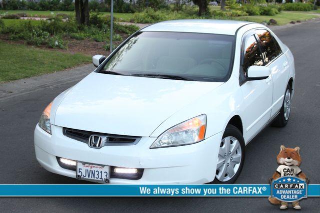 2004 Honda ACCORD LX SEDAN 74K MLS AUTOMATIC SERVICE RECORDS