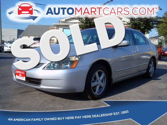 2004 Honda Accord EX | Nashville, Tennessee | Auto Mart Used Cars Inc. in Nashville Tennessee