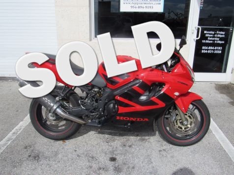 2004 Honda CBR600F4i  in Dania Beach, Florida