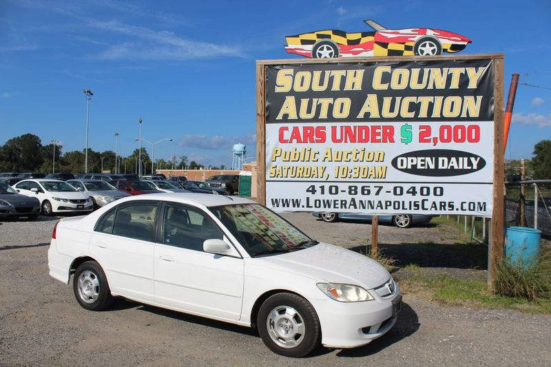 2004 Honda Civic HYBRID  city MD  South County Public Auto Auction  in Harwood, MD