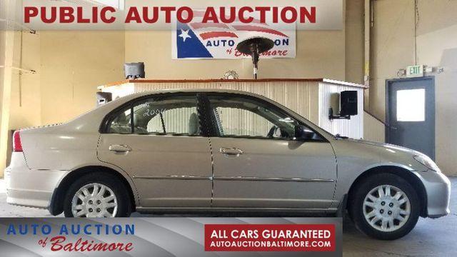 2004 Honda Civic LX   JOPPA, MD   Auto Auction of Baltimore  in Joppa MD