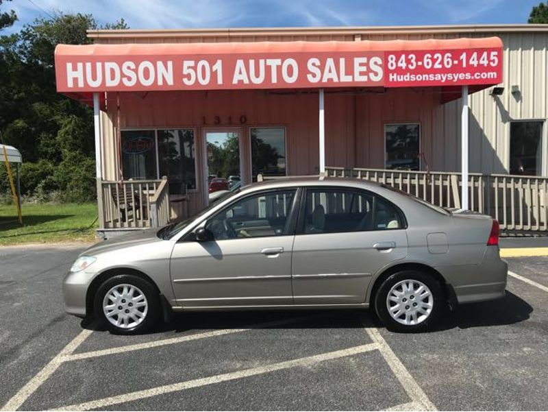 2004 Honda Civic LX   Myrtle Beach, South Carolina   Hudson Auto Sales in Myrtle Beach South Carolina